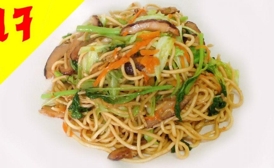 ยากิโซบะเจ (อาหารเจ) Vegetarian Yakisoba