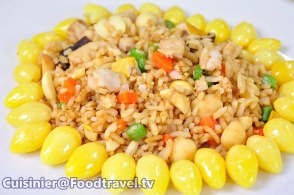 สูตรข้าวผัดแปดเซียนเจ (อาหารเจ)
